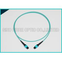 Best 3.0mm 100Gbps 24F MPO MTP Mating Fiber Optical Multimode OM3 Trunk Method B Patch Cable wholesale