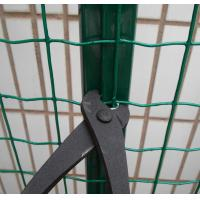 Quality PVC Coated Garden Border Fence Euro Welded Rot-proof For Airport Enclosure for sale