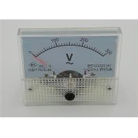 Quality 85L1 Series Panel Mount Analog Voltmeter ABS Plastic Red Pointer 64*56mm for sale