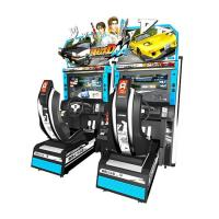 Quality Electric Virtual Reality Car Racing Games 42 inch HD 3D LCD screen Double Player for sale