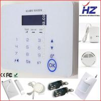 China multi kinds of language Intelligent wireless home gsm alarm system for house on sale