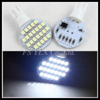 LED T10 W5W Wedge Side Light 24SMD 1210 T10 168 194 LED Interior Micro Dome lamps Parking