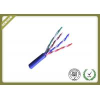 China Pure Copper Cat5e UTP Cable For Network ,  24awg Unshielded Twisted Pair Cable on sale
