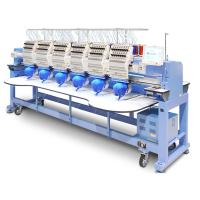 Quality Popular Multi Head Computer Embroidery Machine Bed Sheets T Shirt Socks Clothes Use for sale