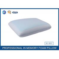 Quality Classic Memory Foam Cooling Gel Pillow with Light Blue Cool Pillow Case for sale
