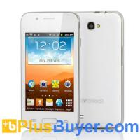 Best Lotus - 4 Inch Budget Android Smartphone - White (Dual SIM, 1GHz CPU) wholesale