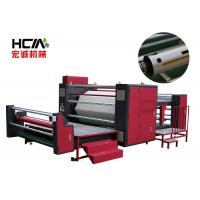 Quality 57KW Roll To Roll Heat Press Machine / Textile Sublimation Roller Heat Transfer Machine for sale