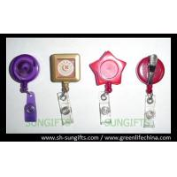 Quality Custom color/design badge reel, ID retractor, fashion ID accessories for sale