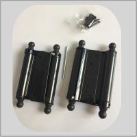 Quality Powder Coating Spring Loaded Hinges , Screen Door Spring Hinges 1.2mm Thickness for sale