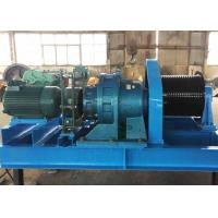 China Heavy Duty 20 Ton 25 Ton Material Lifting Diesel Engine Powered Steel Wire Rope Winch on sale