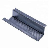 Quality Silver White Metal Stud U Channel , Metal Carrying Channel Excellent Wear Resistance for sale