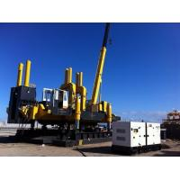 Silent Hydraulic Jack In Piling Machine For PHC Concrete Pile Foundation