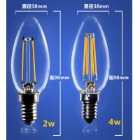 Quality 4W 6W C35 E14 Edison COG lamp LED Filament Bulb Candelabra Light replace traditional bulbs for sale