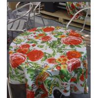 Quality Coated Polyester Satin Digital Printing Fabric For Tablecloth Making for sale