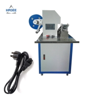Quality Automatic spatule plastic painting labeling machine wooden hammer labeling machine wired headphones labeling machine for sale