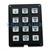 Best Rugged plastic numeric keypad with 12 keys, ideal for access control system wholesale