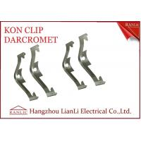 China Electro Galvanized EMT Conduit Fittings NO 65 Manganese Steel Caddy Clip Kon Clip on sale