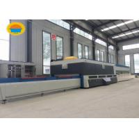 Quality AT2436 Horizontal Flat Glass Tempering Furnace 2440 * 3660 Mm CE Certification for sale