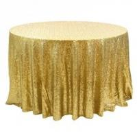 Quality high quality ,cheap sequin fabric ,round table cloth for sale