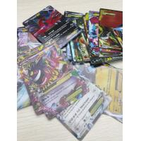 Buy cheap English Pokemon Cards EX Version Shiny POKEMON Trading Cards Toys for children from wholesalers