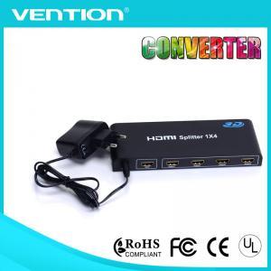 Quality 1 Input 4 Output HDMI Splitters 1.4V HDMI Distribution Amplifier 3D HDCP 1080P 4K*2K 1x4 for sale