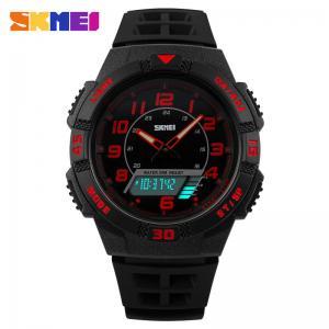 Quality 2 Times Zone Analog Digital Wrist Watch With Customize Brand Logo for sale