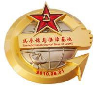 Quality Stamping / Die Casting Custom Sports Medals , Antique Gold Custom Soccer Medals for sale