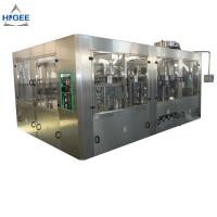 Quality Automatic 3 In 1 Monoblock Beer Filling Machine Production Line 50 - 80mm Bottle Diameter for sale