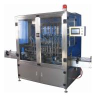 Quality Lube / Olive Edible Oil Filling Machine Manual With High Measurement Accuracy for sale