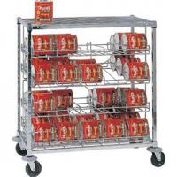 Quality Mobile Can Storage Rack Kits 4 Tier Heavy Duty Shelving Unit High Capacity for sale