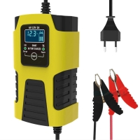 Quality 12V 2A Intelligent Calcium Car Battery Charger Overheating Protection for sale