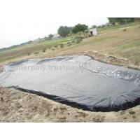 Quality 0.2mm - 3mm Thickness Geomembrane Pond Liner HDPE / PVC Geomembrane Poll Liner for sale