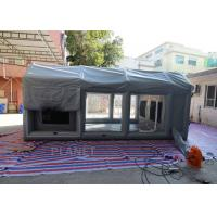 China PVC Tarpaulin Outdoor Used Inflatable Car Painting Spray Booth Garage Tent on sale