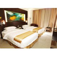 Wooden Modern Hotel Bedroom Furniture , King Size Bedroom Suite