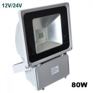 Quality 12V or 24V 80W Aluminum Waterproof  Outdoor Led Flood Light Bulb Fixtures for billboard for sale