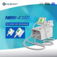 Quality USA Hot Sales Portable 2 Handles Working Simultaneously Cryolipolysis Liposuction Machine for sale