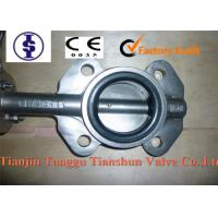 Quality WCB / SS / DI / Cast Iron Butterfly Valve DN50 - 1000 , sure seal butterfly valves for sale
