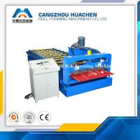 R Panel Roofing Sheet Roll Forming Machine 4.5T Machine Weight , 45# Steel Rollers