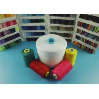 Best Eco-friendly Raw White 20S / 3 100% Polyester Spun Yarn for Sewing Thread in Hubei China wholesale