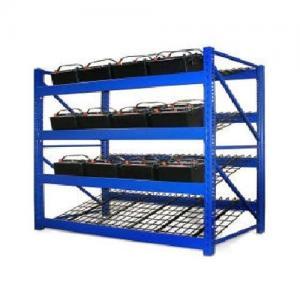 Quality Wire Mesh Heavy Duty Battery Storage Rack Solar Energy Storage System for sale