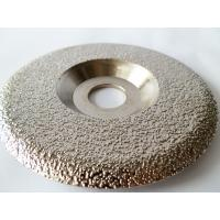 Quality Plate Shaped  Diamond Grinding Wheel / Artificial Stone Diamond Grinding Disc for sale