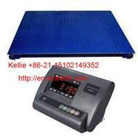 Export Small table double-layer electronic weighbridge,  floor scale,  ground scale,  YingHeng Weighing Scale,  China