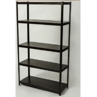 Quality Height Adjustable Angle Boltless Steel Rack With 5 Shelves for sale