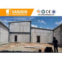 China Interior Wall Materials Lightweight Precast Concrete Panels Fire Resistant on sale