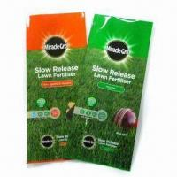 Buy cheap Fertilisation Bag, Made of PET, Matte OPP, VMPET, NY and PE from wholesalers