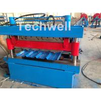 Quality Roof / Wall Panel Double Deck Roll Forming Machine , Double Layer Roll Former for sale