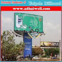 Frontlit Three Sided Tower Sign Board (W10 x H6m)
