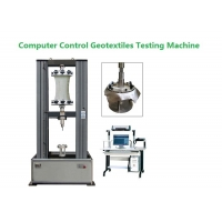 Quality Computer Control Geotextile Testing Machine For Widewidth Tensile Grab Test for sale