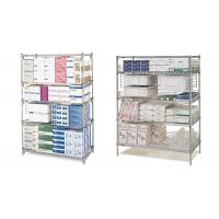 """Quality 42"""" x 60""""  Commercial Wire Shelving Pharmacy Storage Racking Solutions for sale"""