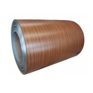 Quality T3 Temper Wood Grain PVDF Coated Aluminum Strips Good Weldability for sale